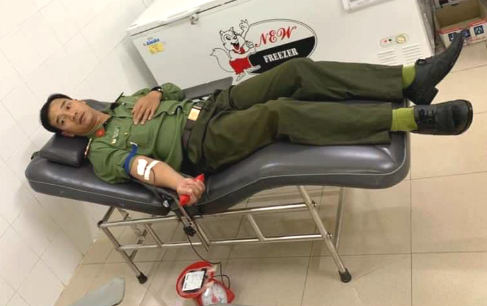 hiến máu,Lâm Đồng