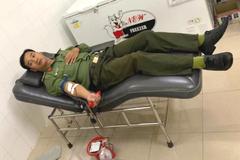3 công an hiến nhóm máu hiếm cứu sống thanh niên bị đâm trọng thương