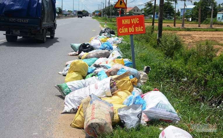 rác thải,ô nhiễm môi trường,Quảng Nam,ô nhiễm