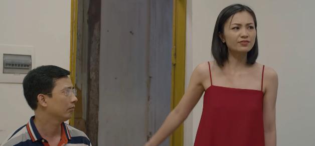 'Hoa hồng trên ngực trái' tập 10, Trà trơ trẽn bị mẹ Thái đuổi thẳng cổ khỏi công ty