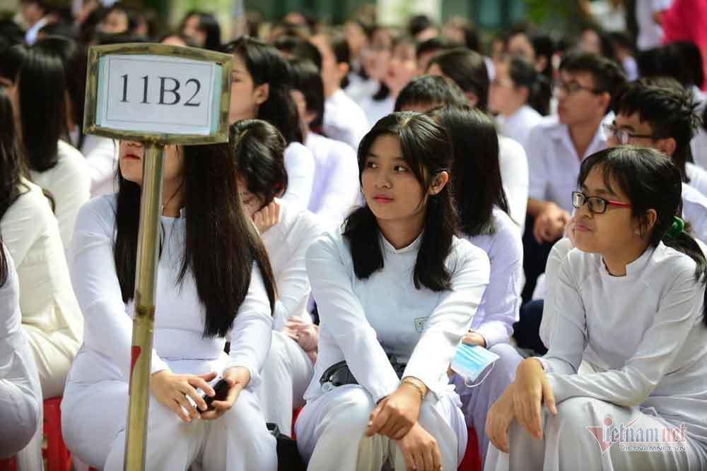 Nữ sinh,Ngày khai giảng,Ngày tựu trường,Khai giảng năm học mới