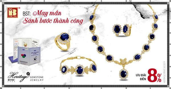 Trang sức Sapphire dòng Heritage - quà tặng may mắn cho người sinh tháng 9