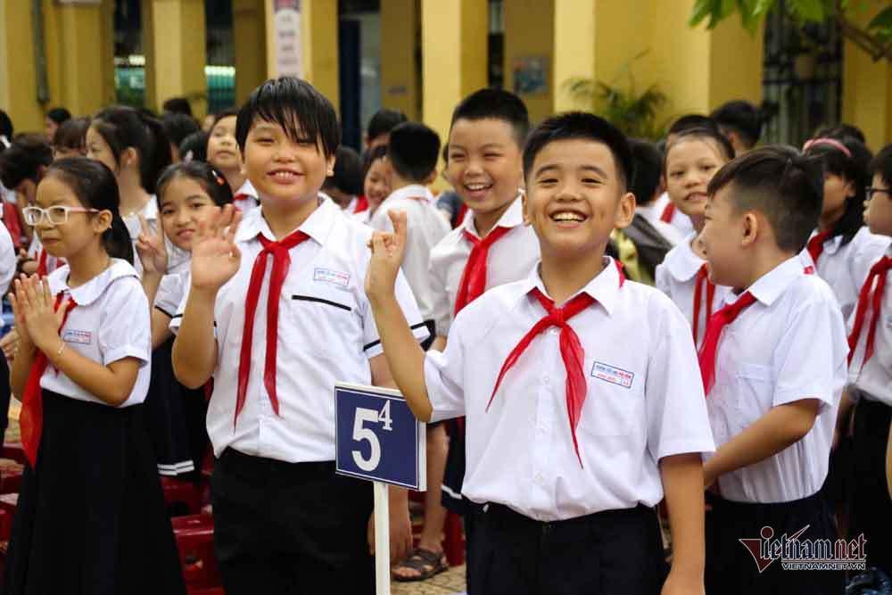 Tiểu học,khai giảng