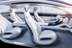 Nội thất xe điện Mercedes-Benz như phi thuyền vũ trụ