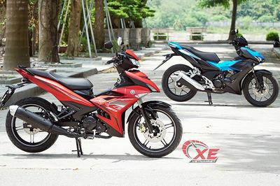 Người Malaysia có cách biến động cơ Yamaha Exciter giống Honda Winner
