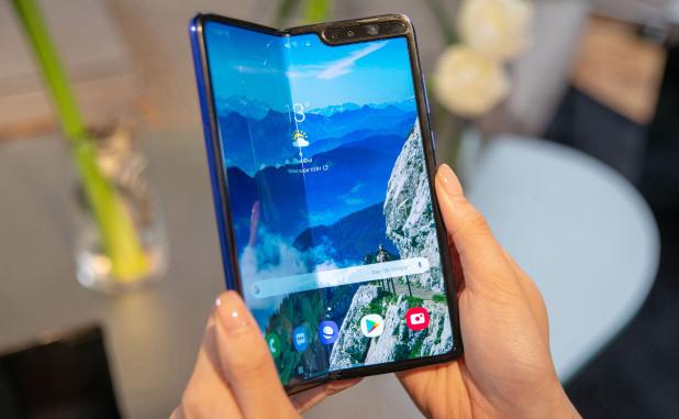 Galaxy Fold,Smartphone màn hình gập,Điện thoại Samsung