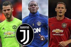"""Juventus """"hốt"""" liền 3 ông kễnh MU sắp hết hợp đồng"""