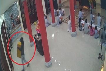 Thanh niên đột nhập hàng loạt chùa ở Đà Nẵng trộm hòm công đức