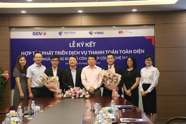 BIDV 'bắt tay' VIMO phát triển dịch vụ thanh toán toàn diện