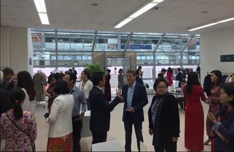 Doanh nghiệp dệt may Việt Nam tham gia Hội chợ Munich Fabric Start tại Đức