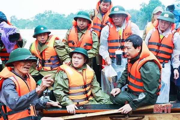 Thủ tướng gửi thư động viên đồng bào vùng mưa lũ miền Trung