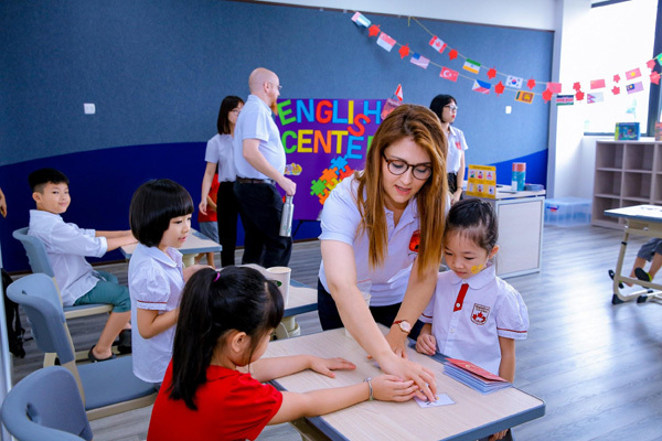 khai giảng,trường quốc tế,trường tiểu học