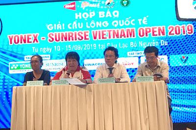 Hơn 130 triệu cho nhà vô địch giải cầu lông Việt Nam Open 2019