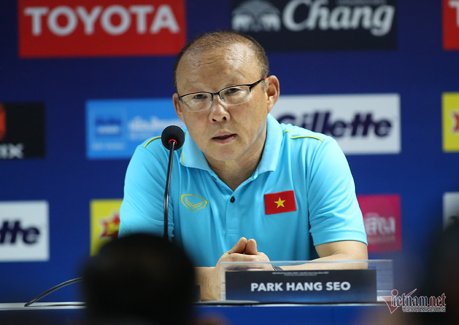HLV Park Hang Seo,tuyển Thái Lan,tuyển Việt Nam