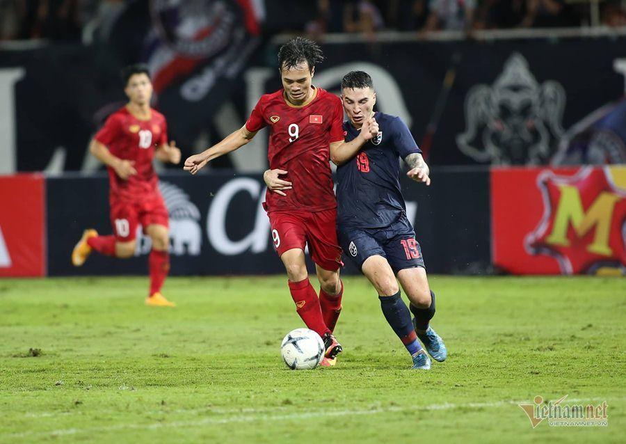 Tuyển Việt Nam tụt 2 bậc trên bảng xếp hạng FIFA