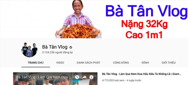 Bà Tân 'Vlog' tuyên bố nộp thuế đủ, phủ nhận thu nhập hàng trăm triệu đồng/tháng
