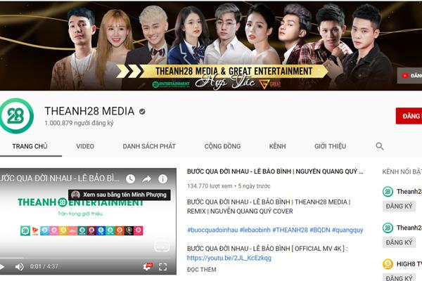 Theanh28 Entertainment - 'bàn tay vàng' trong làng Top 1 Trending