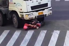 Người phụ nữ sống sót thần kỳ dù bị xe bồn chèn qua đầu