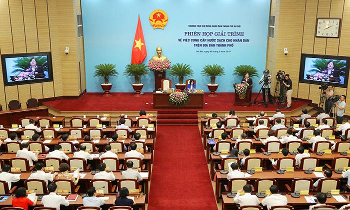 Nguyễn Đức Chung,nước sạch