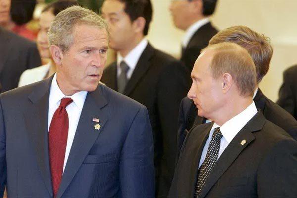 Mỹ,Nga,Putin,George W. Bush,khủng bố 11/9