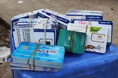 Viettel, VinaPhone, MobiFone dừng bán SIM hòa mạng tại các đại lý