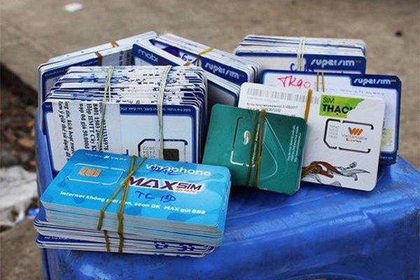 SIM rác,Viễn thông,Bộ TT&TT,SIM kích hoạt sẵn