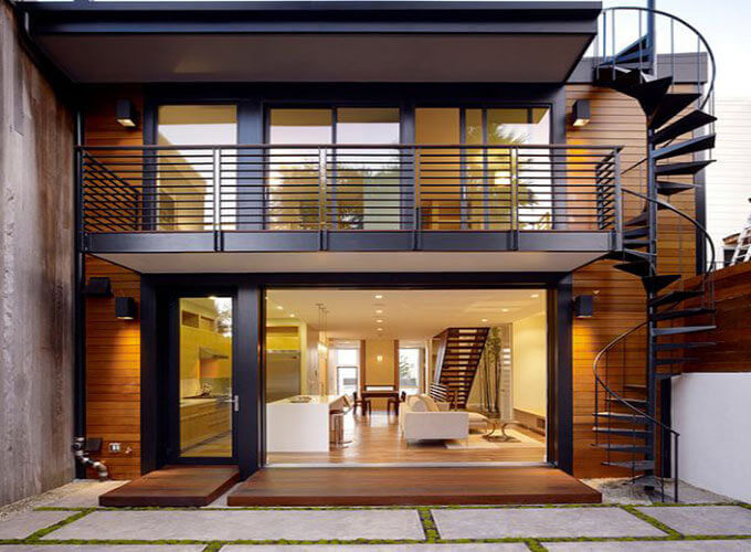 nhà đẹp,cầu thang ngoài,cầu thang nhà,cầu thang
