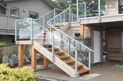 Tròn mắt những ngôi nhà có cầu thang ngoài nhìn là mê