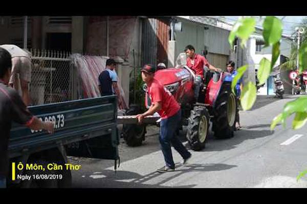 Máy kéo Yanmar YM3 thế hệ mới thu hút nông dân miền Tây
