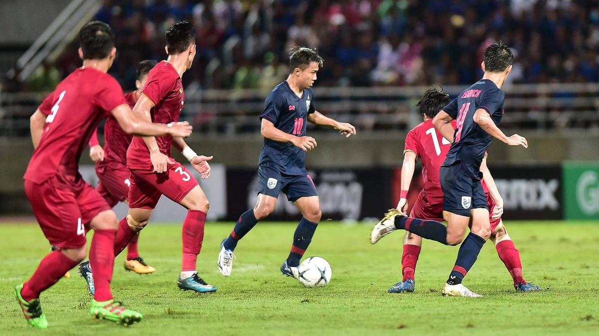 Tuyển Việt Nam,tuyển Thái Lan,Thái Lan vs Việt Nam,HLV Park Hang Seo,Chanathip Songkrasin