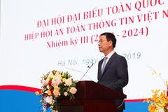 Toàn văn phát biểu của Bộ trưởng Nguyễn Mạnh Hùng tại Đại hội lần 3 Hiệp hội ATTT
