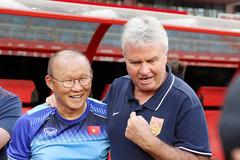 """HLV Park Hang Seo: """"Tôi hiểu được lối chơi của Guus Hiddink"""""""
