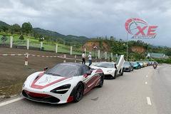 Cường Đô la và dàn siêu xe đình đám nhất Việt Nam đổ về Bình Dương