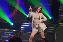 Thu Quỳnh nhảy cực bốc với hit của Hoàng Thùy Linh