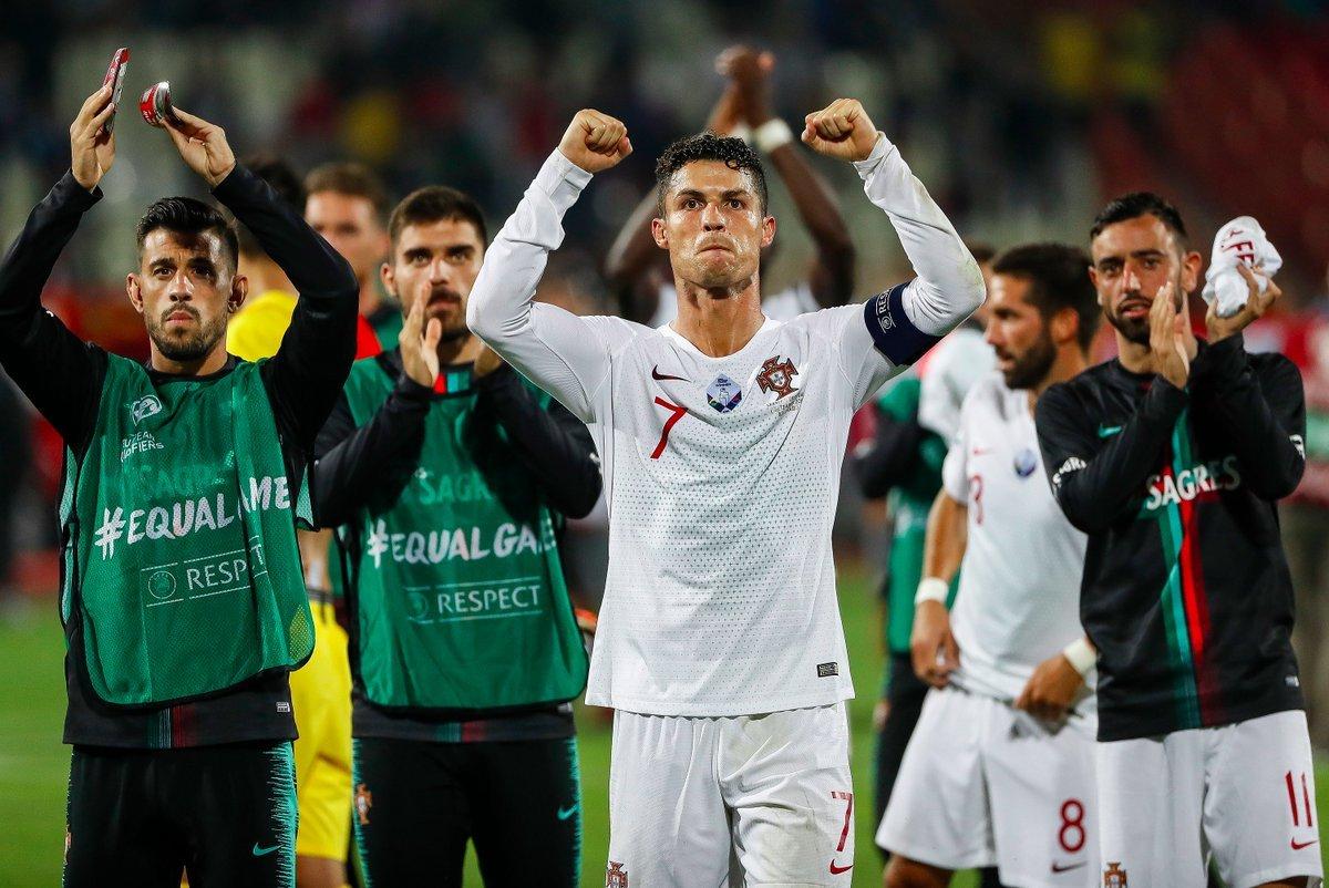 Ronaldo truyền cảm hứng, Bồ Đào Nha đại thắng Serbia