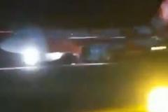 Động cơ phát nổ ngay sau khi cất cánh, máy bay AirAsia hạ cánh khẩn cấp