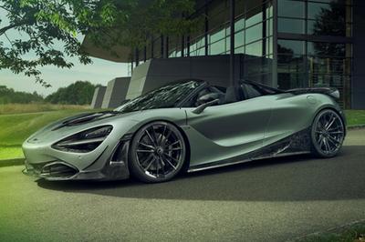 Siêu xe McLaren 720S mui trần cuốn hút với gói độ Novitec