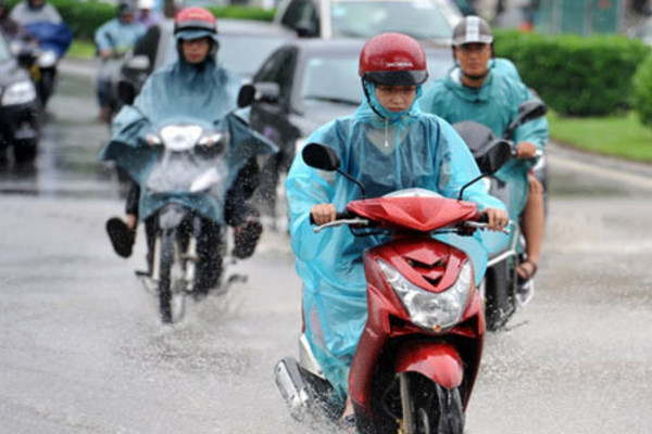 Dự báo thời tiết, Thời tiết hôm nay, Miền bắc mưa to