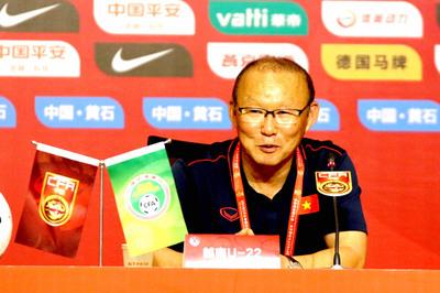 U22 Việt Nam thắng đẹp, thầy Park thể hiện sự khiêm tốn
