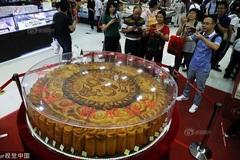 Choáng váng bánh trung thu siêu to khổng lồ kỷ lục 365 kg
