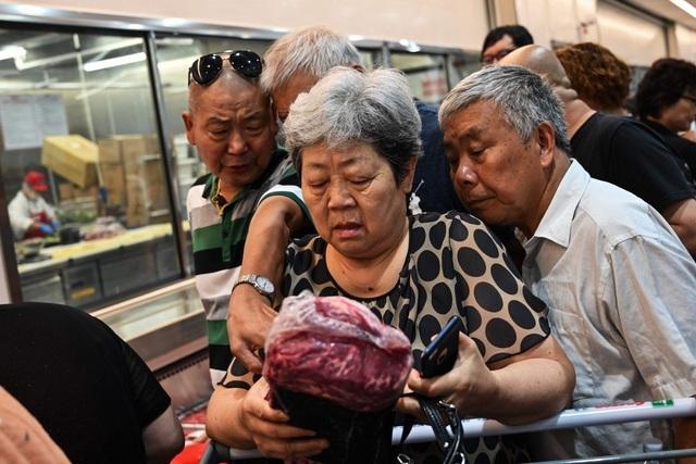 Giá thịt lợn,Trung Quốc,thịt lợn,thương chiến Mỹ Trung