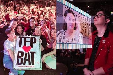 Bùi Anh Tuấn xúc động khi 1.000 fan đội mưa đến chúc mừng sinh nhật