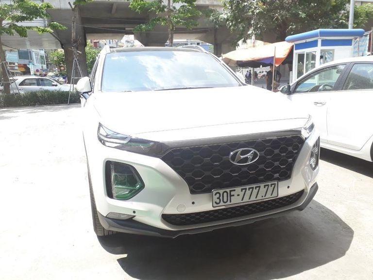Hyundai Santa Fe,Xe Biển Đẹp,Biển Số Xe