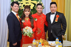 Quang Lê 39 tuổi đã làm bố chồng, về miền Tây cưới vợ cho con trai