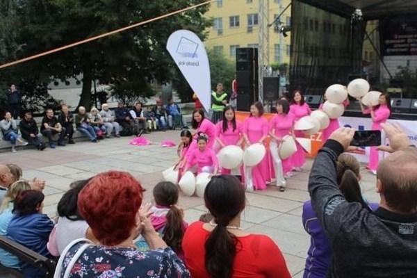 Vietnamese expats in Czech Republic joins multicultural festival