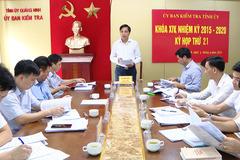 Quảng Ninh yêu cầu kỷ luật 3 đảng viên vi phạm