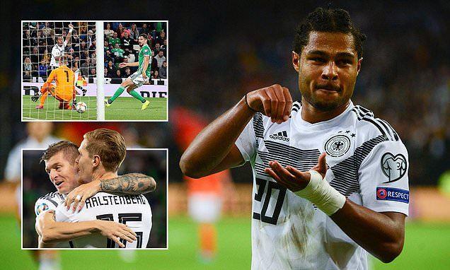 Đức,vòng loại EURO 2020,Bắc Ireland