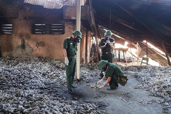 Hanoi's light bulb factory fire leaked 27 kilos of mercury