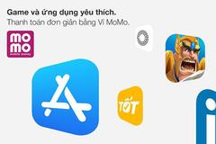 MoMo giờ đây có thể được dùng thanh toán cho App Store