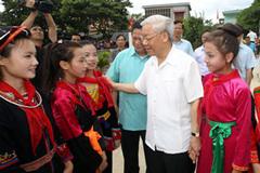 Tổng bí thư, Chủ tịch nước gửi thư chúc Tết Trung thu cho thiếu nhi